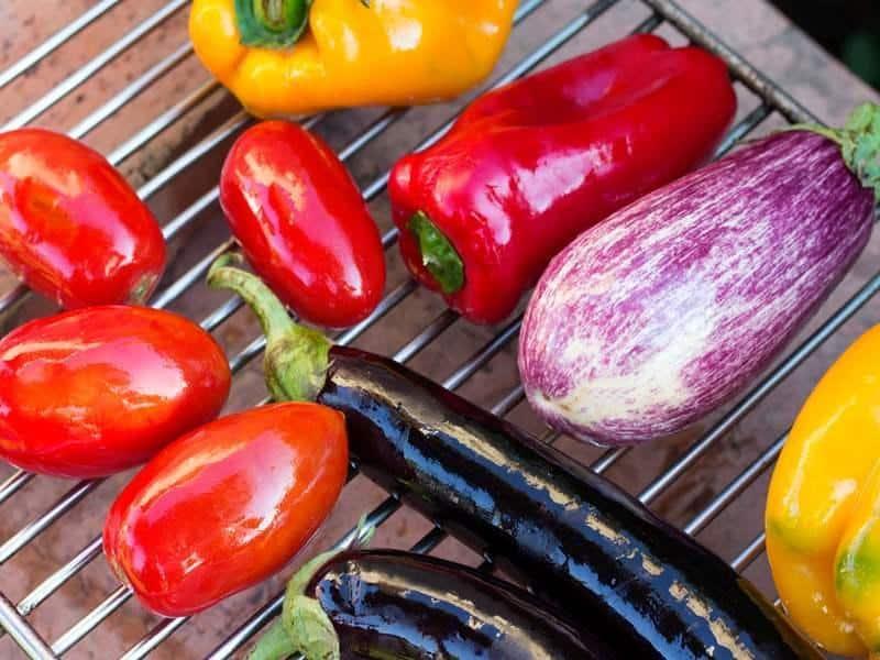 Antipasti aus Gemüse