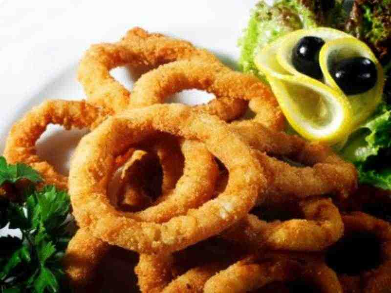 Gebackener Tintenfisch- Calamari Dorati Rezept