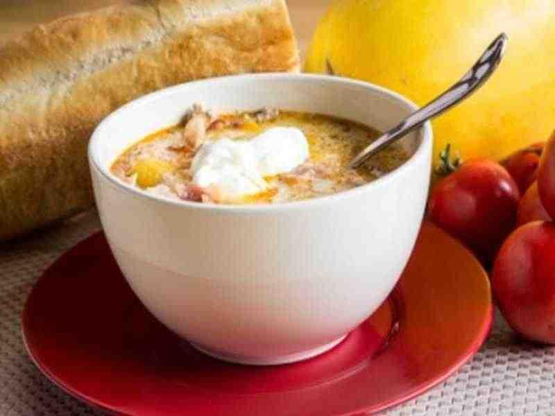 Gemüsesuppe – Zuppa di verdure Rezept