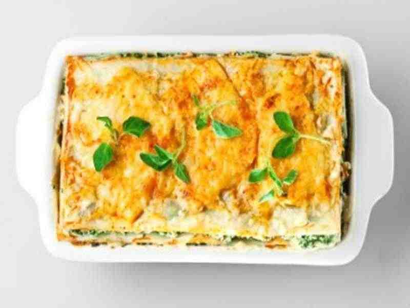Lasagne mit Schafskäse Rezept