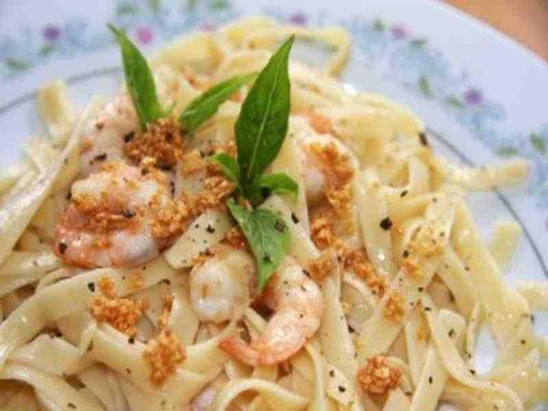 Pasta mit Shrimps Rezept