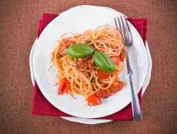 Pastasciutta alla Fiorentina - Spaghetti nach Florentiner Art