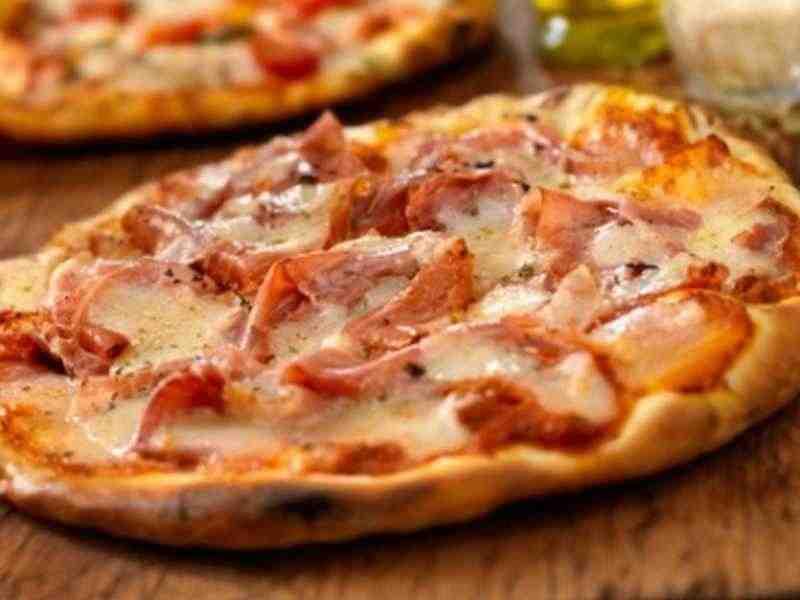 Pizza Prosciutto Rezept