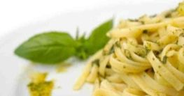 Pasta mit Pesto & Mascarpone