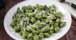 Gnocchi al spinachi