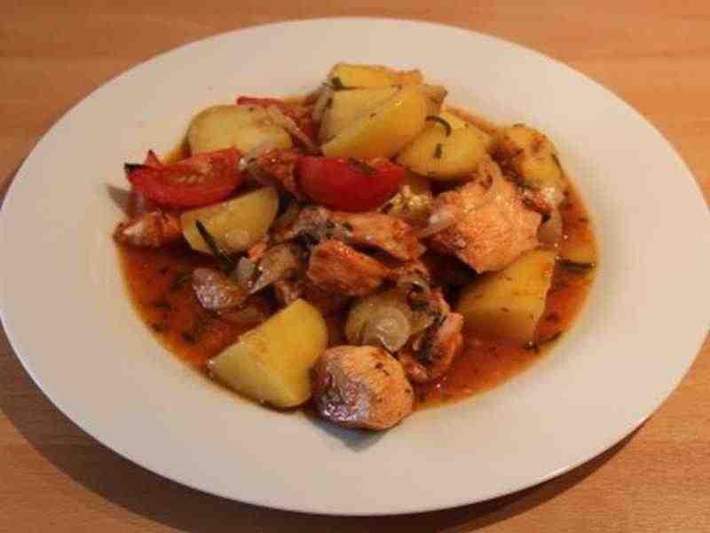 Toskanischer Hähnchenauflauf Rezept