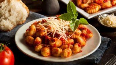 Gnocchi mit feuriger Tomaten - Cranberry Sauce